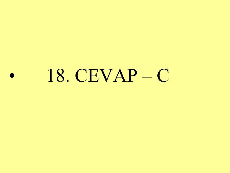 18. CEVAP – C