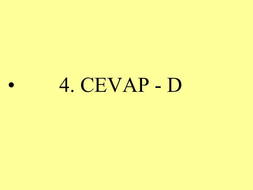 4. CEVAP - D