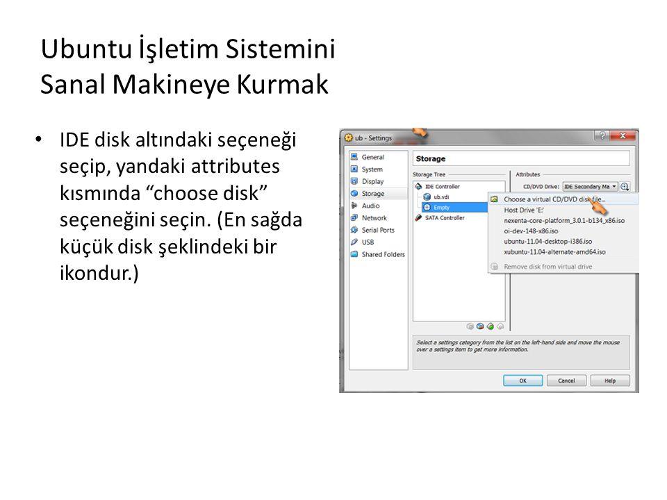 Ubuntu İşletim Sistemini Sanal Makineye Kurmak