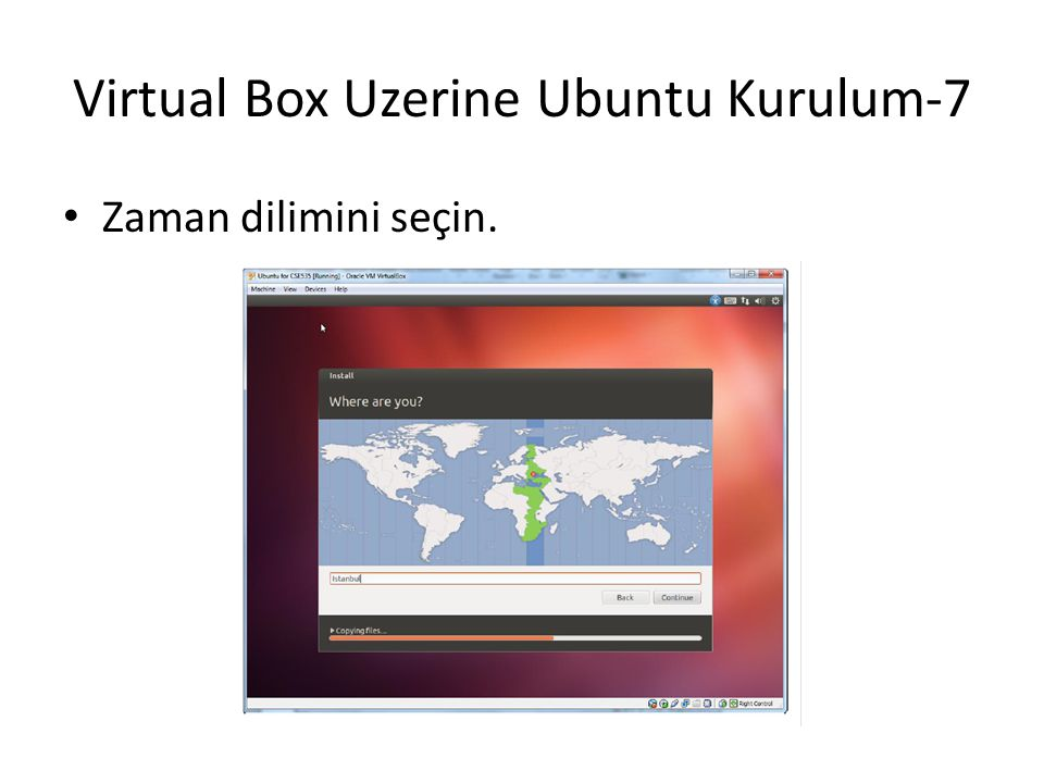 Virtual Box Uzerine Ubuntu Kurulum-7
