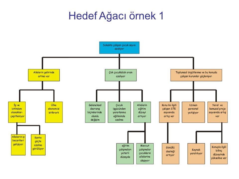 Hedef Ağacı örnek 1