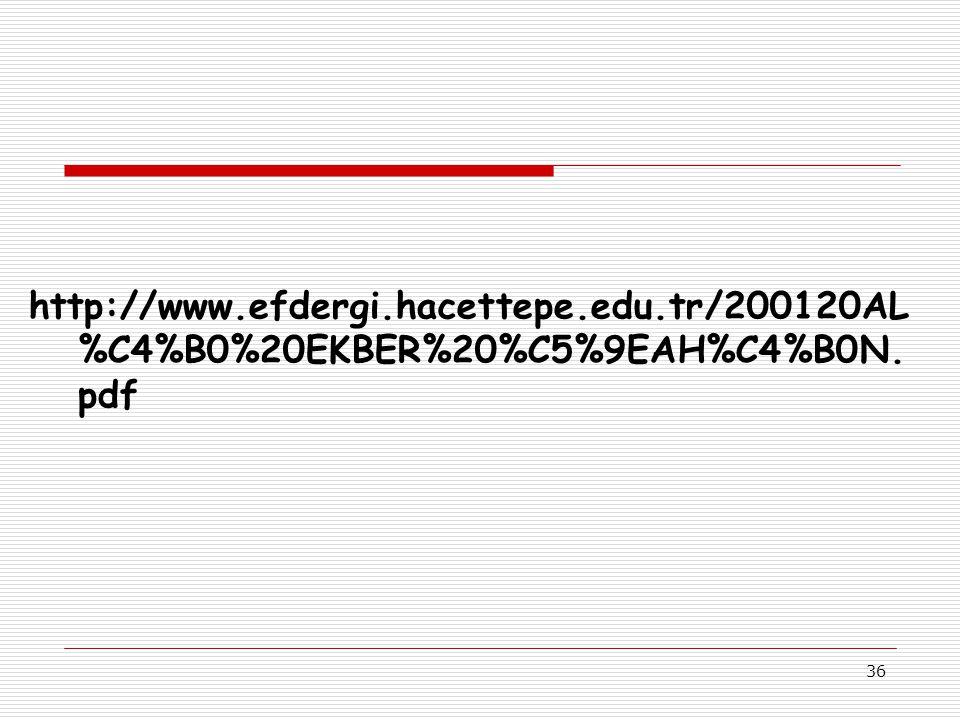 http://www. efdergi. hacettepe. edu
