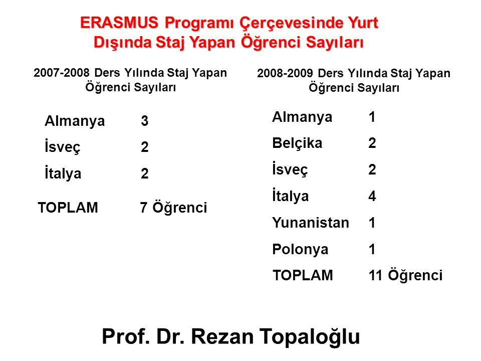 Prof. Dr. Rezan Topaloğlu