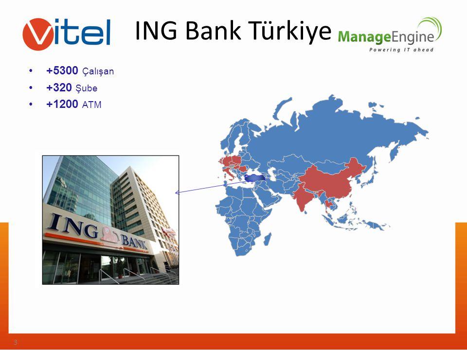 ING Bank Türkiye +5300 Çalışan +320 Şube +1200 ATM