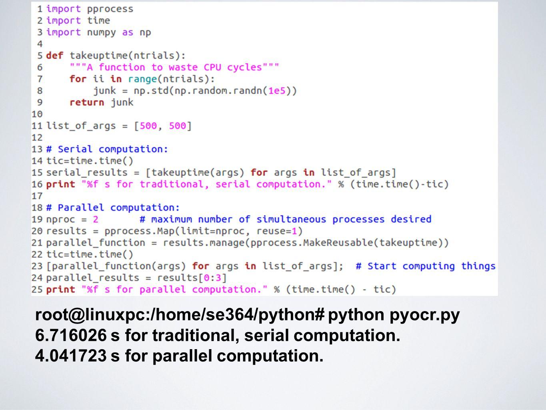 root@linuxpc:/home/se364/python# python pyocr.py