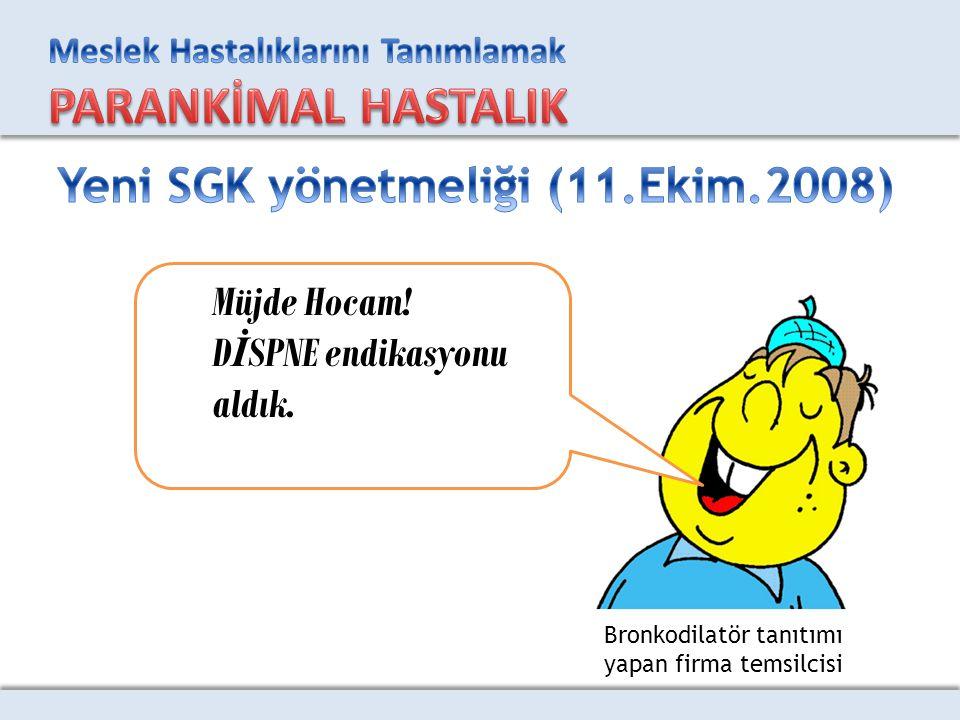 Yeni SGK yönetmeliği (11.Ekim.2008)