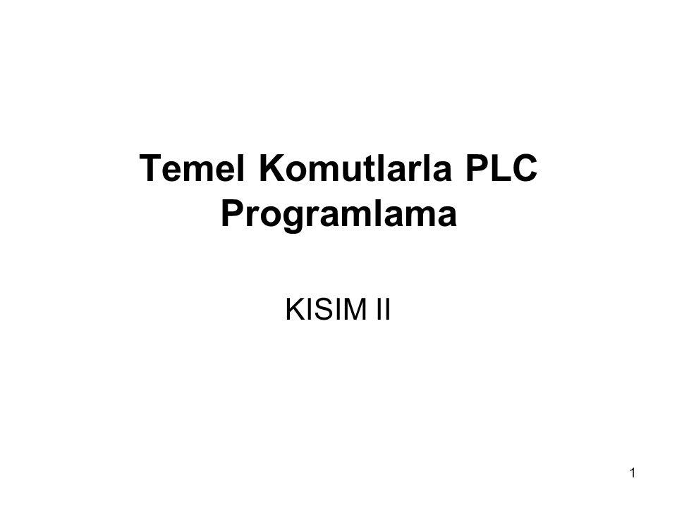 Temel Komutlarla PLC Programlama