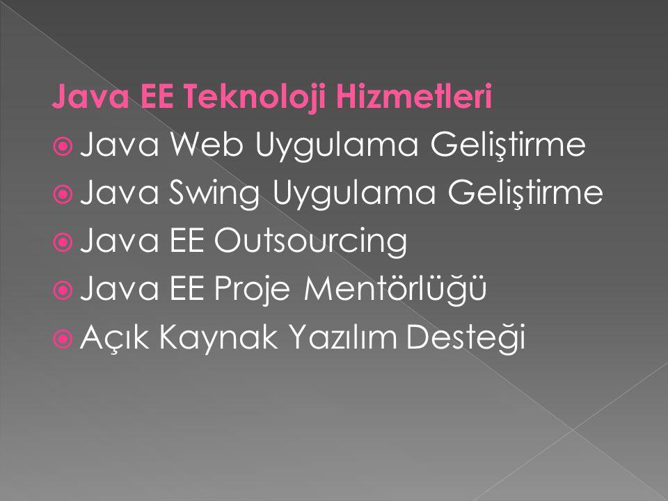 Java EE Teknoloji Hizmetleri