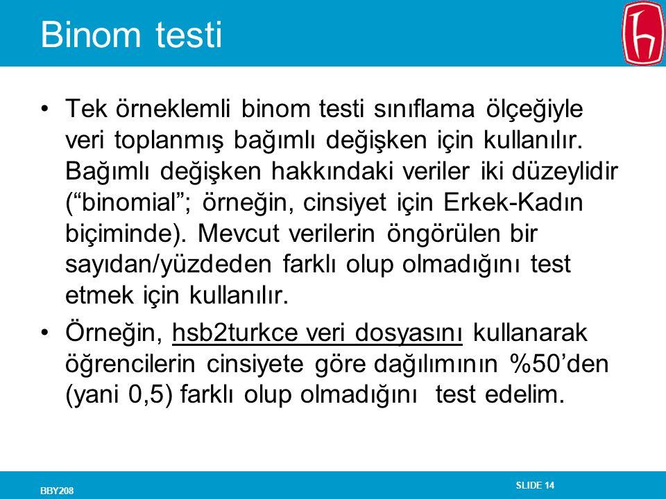 Binom testi