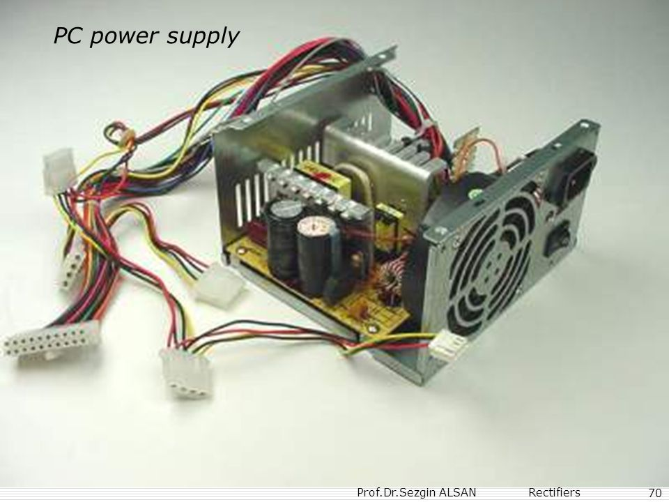 PC power supply 70