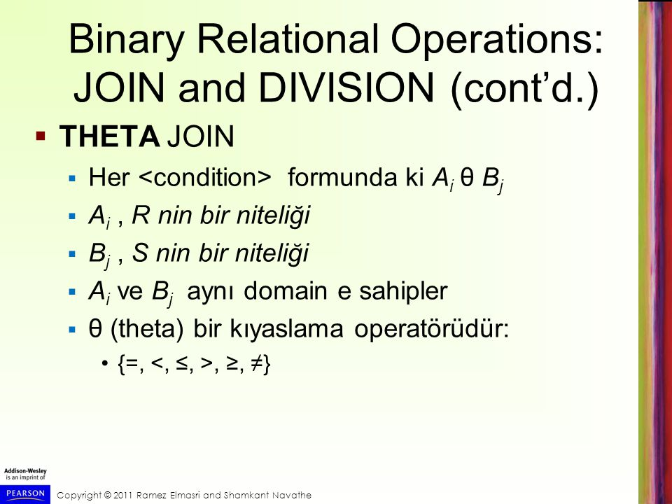 Binary Relational Operations: JOIN and DIVISION (cont'd.)