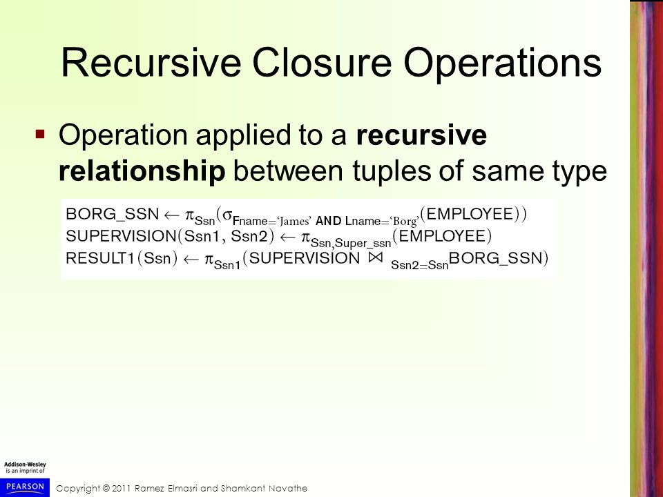 Recursive Closure Operations
