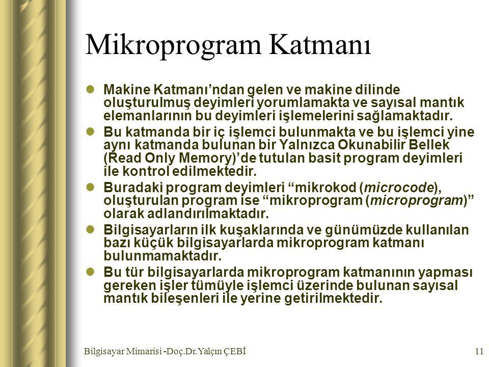 Mikroprogram Katmanı