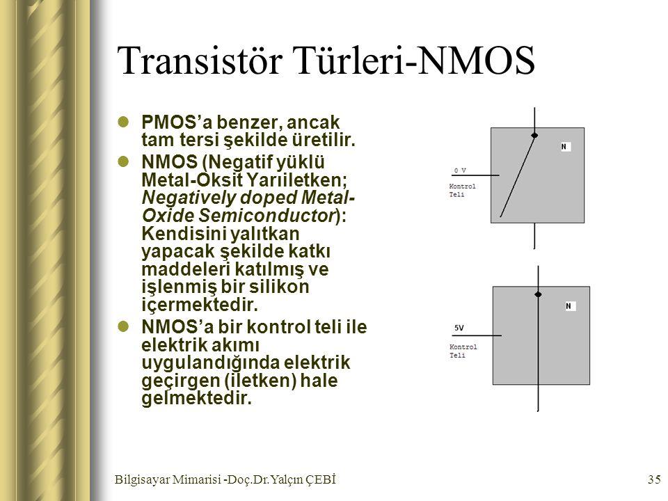 Transistör Türleri-NMOS