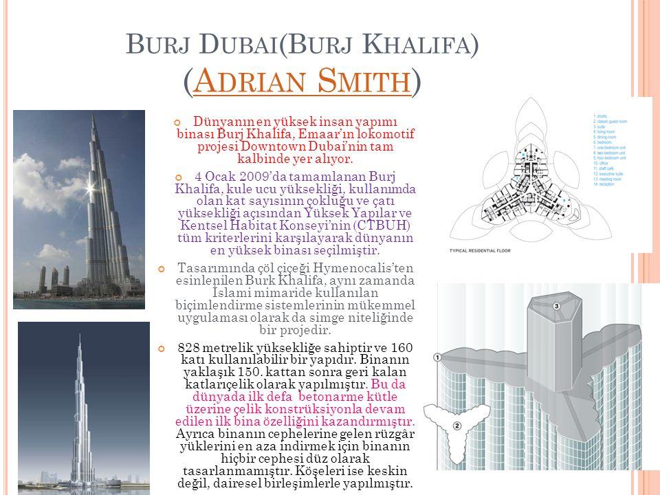 Burj Dubai(Burj Khalifa) (Adrian Smith)