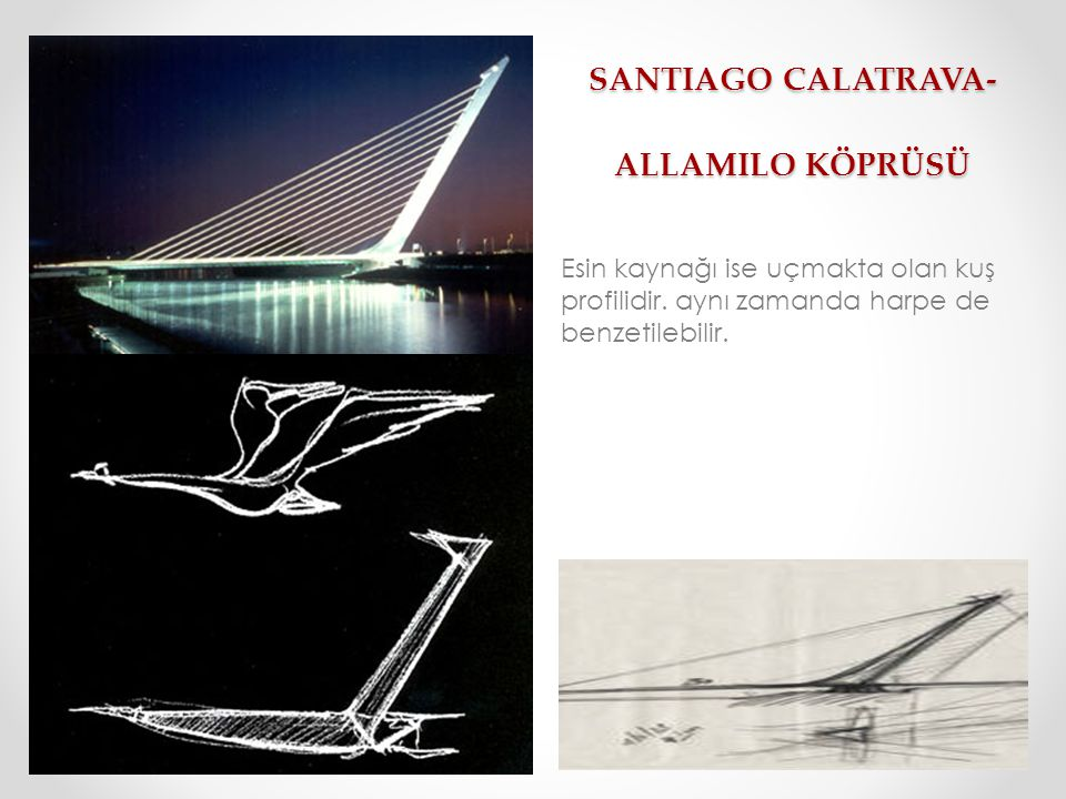 SANTIAGO CALATRAVA- ALLAMILO KÖPRÜSÜ