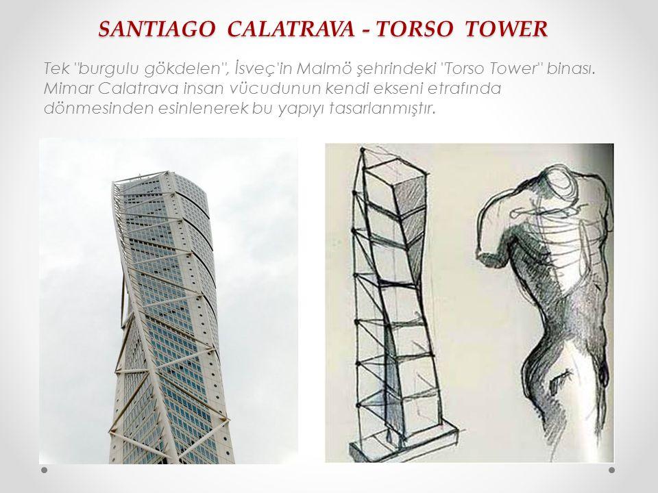 SANTIAGO CALATRAVA - TORSO TOWER