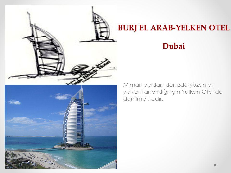 BURJ EL ARAB-YELKEN OTEL Dubai