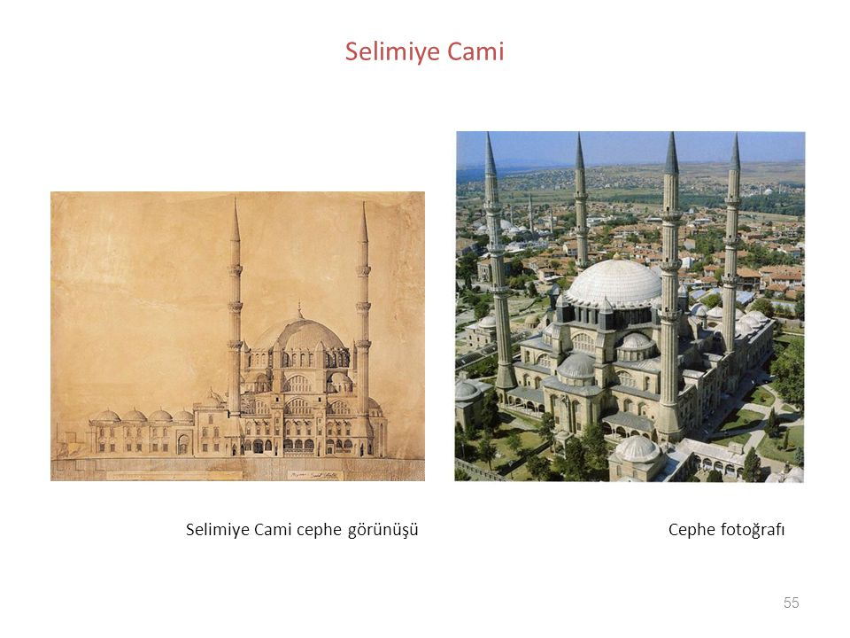 Selimiye Cami Selimiye Cami cephe görünüşü Cephe fotoğrafı.
