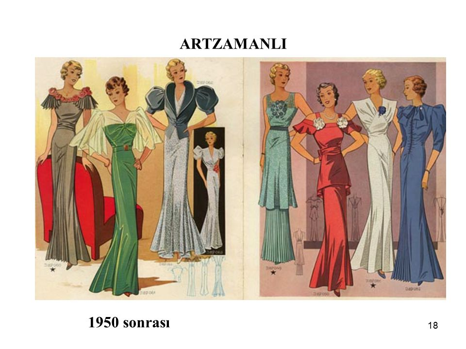 ARTZAMANLI 1950 sonrası