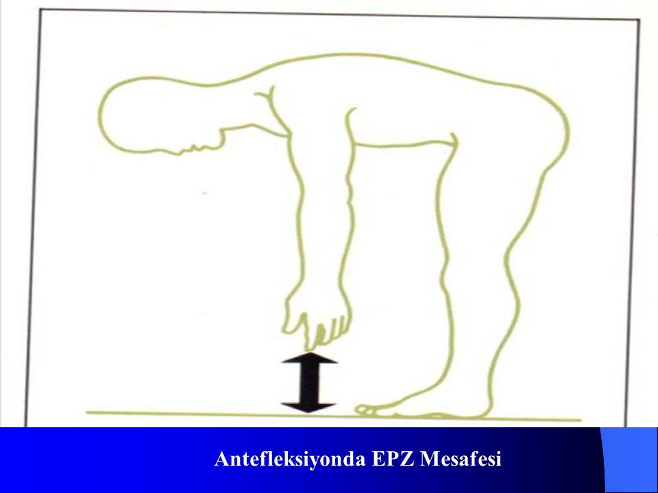 Antefleksiyonda EPZ Mesafesi