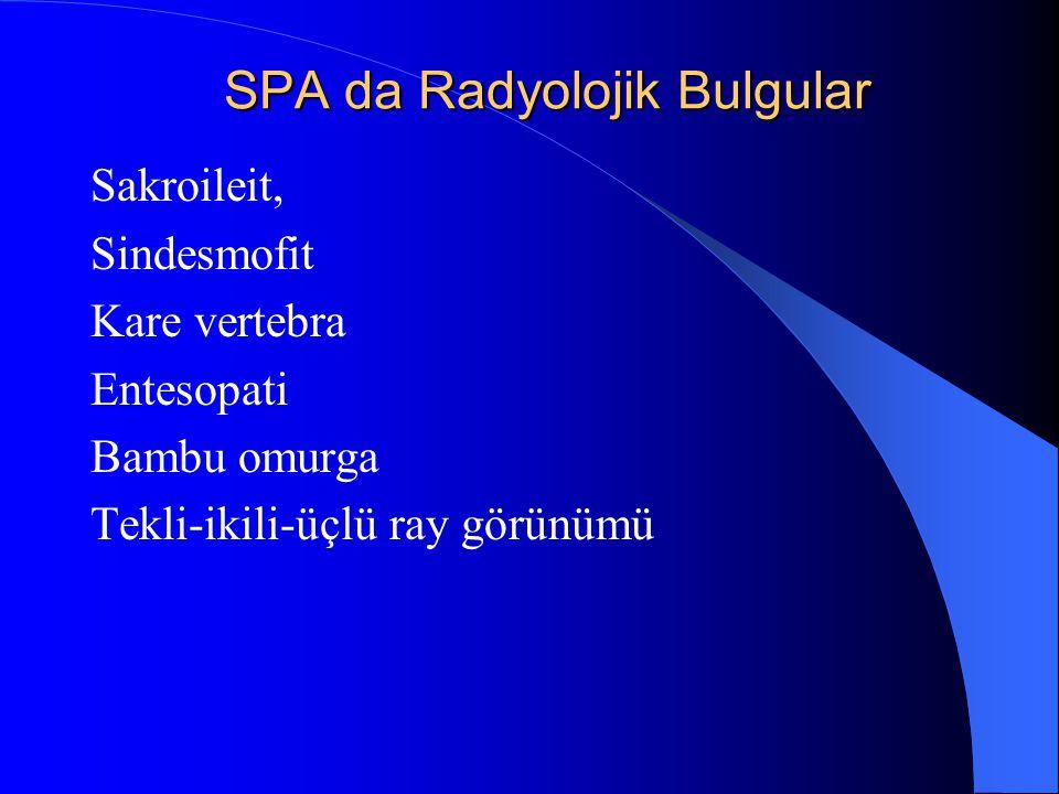 SPA da Radyolojik Bulgular