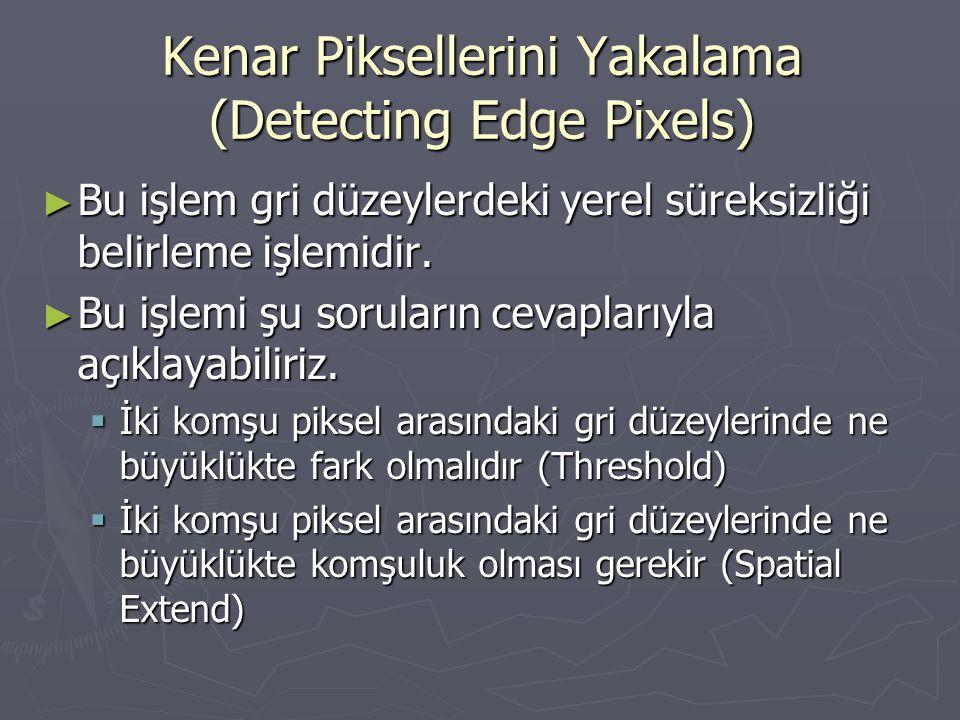 Kenar Piksellerini Yakalama (Detecting Edge Pixels)