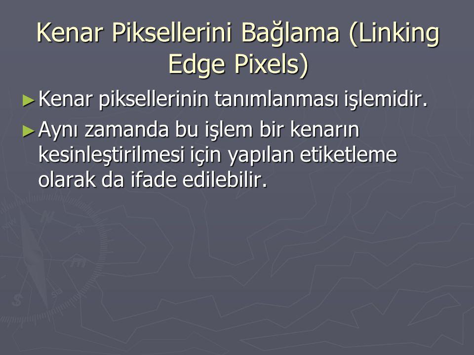 Kenar Piksellerini Bağlama (Linking Edge Pixels)