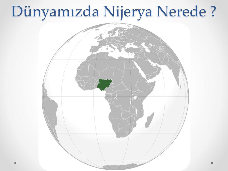 Dünyamızda Nijerya Nerede