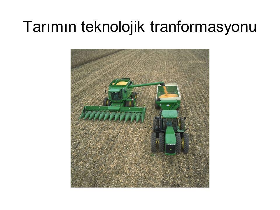 Tarımın teknolojik tranformasyonu