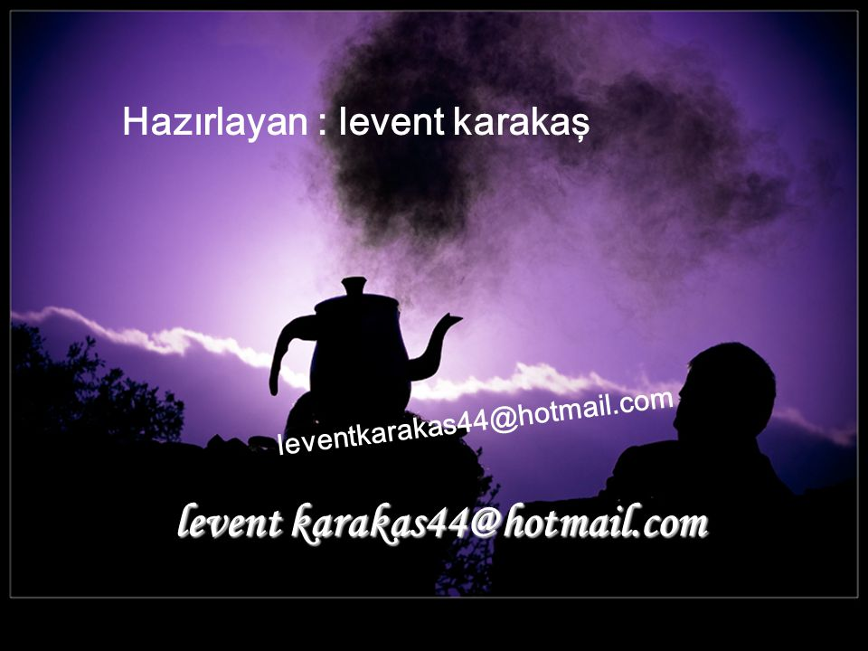 levent karakas44@hotmail.com