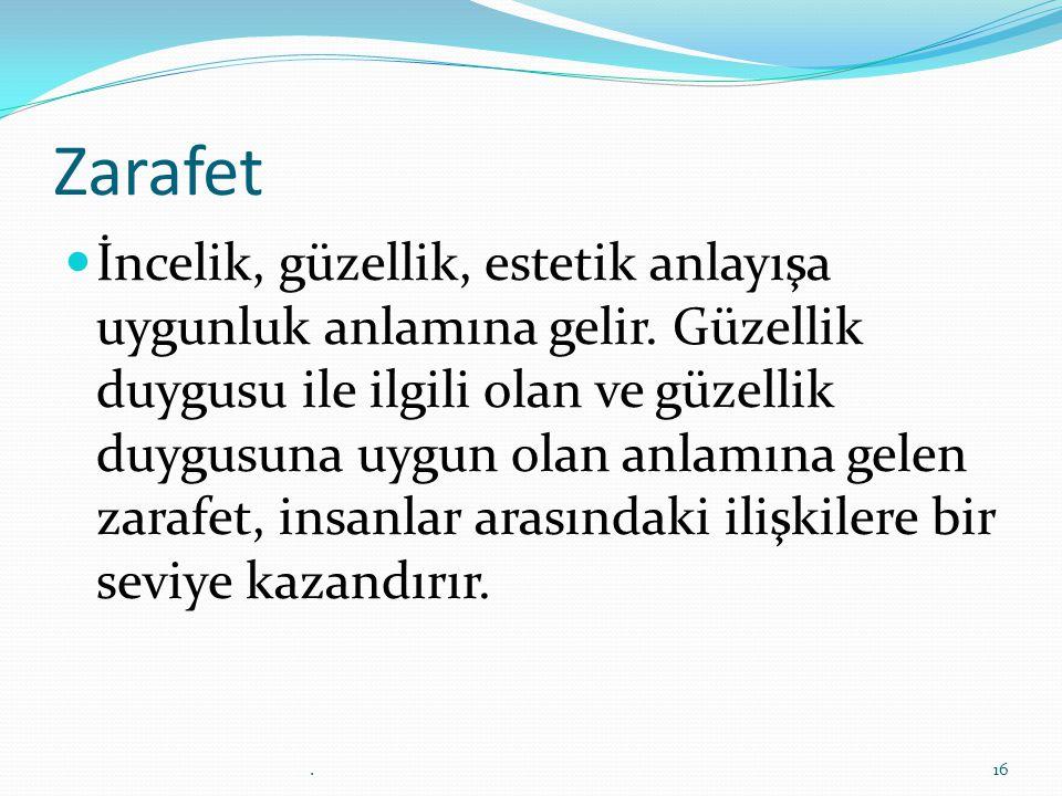 Zarafet