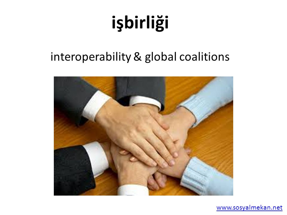 interoperability & global coalitions