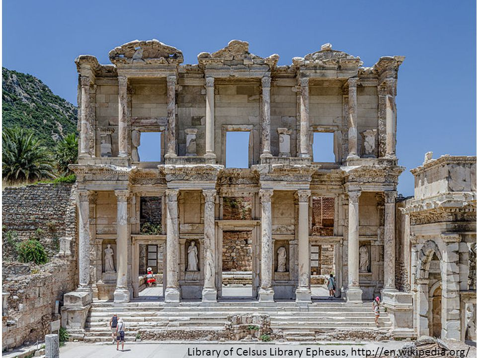 Library of Celsus Library Ephesus, http://en.wikipedia.org/