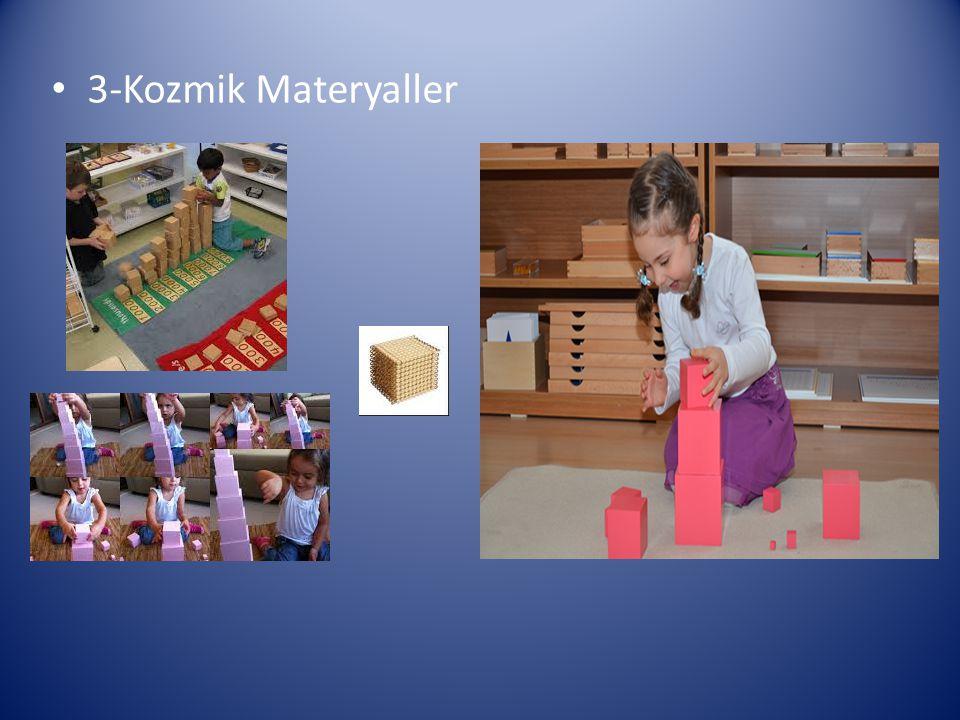 3-Kozmik Materyaller