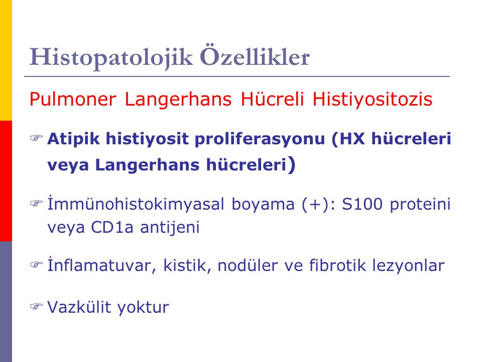 Histopatolojik Özellikler