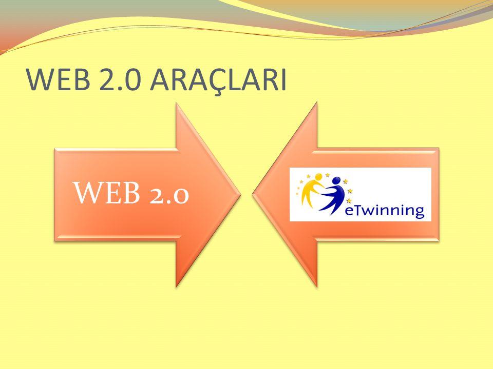 WEB 2.0 ARAÇLARI WEB 2.0