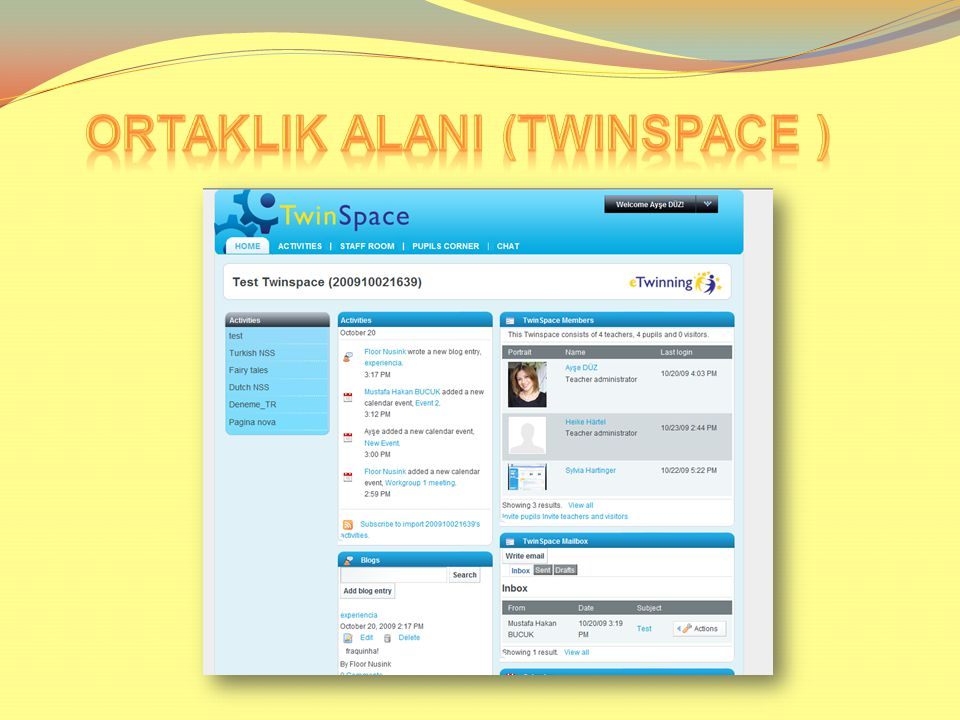 ORTAKLIK ALANI (TWINSPACE )