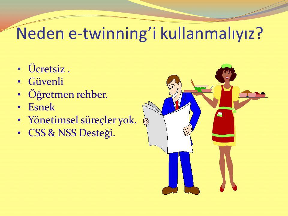Neden e-twinning'i kullanmalıyız
