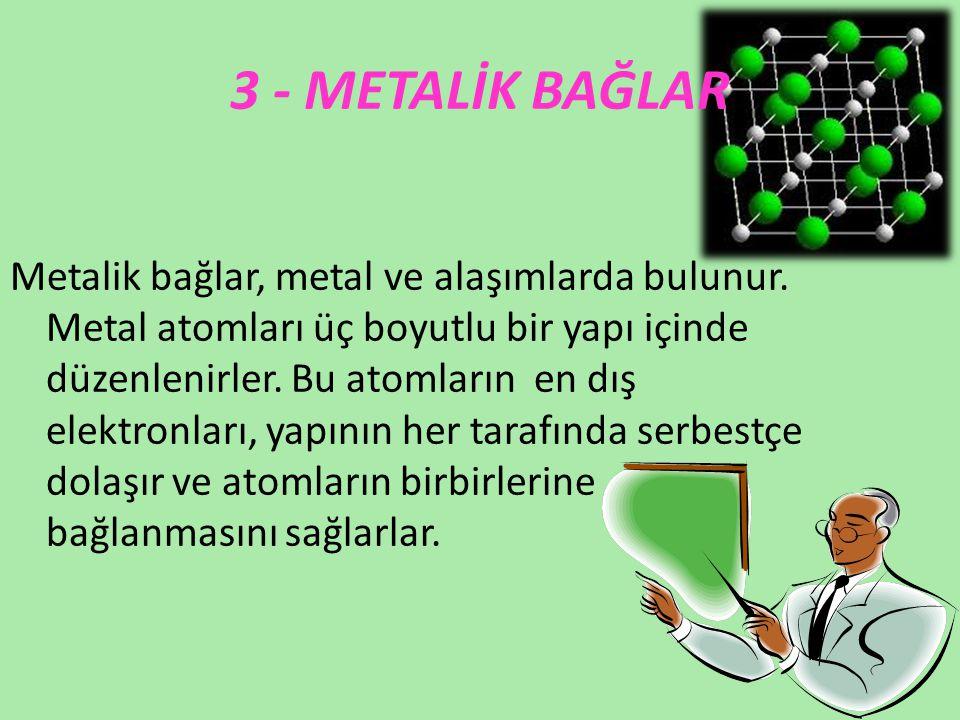 3 - METALİK BAĞLAR