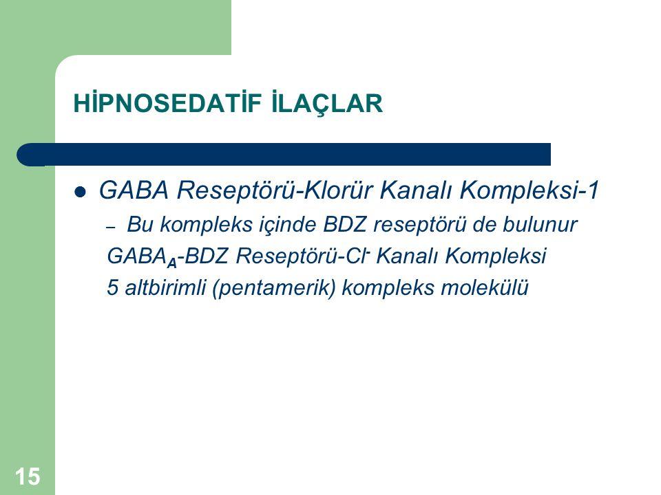 GABA Reseptörü-Klorür Kanalı Kompleksi-1