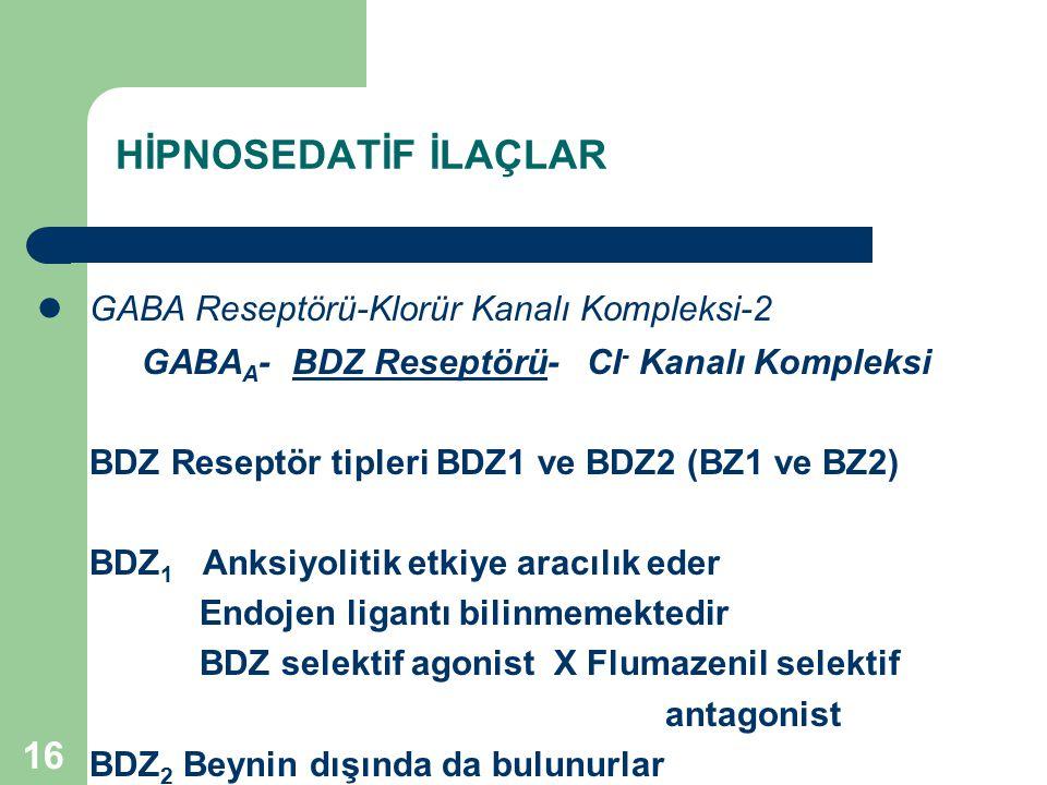 GABA Reseptörü-Klorür Kanalı Kompleksi-2