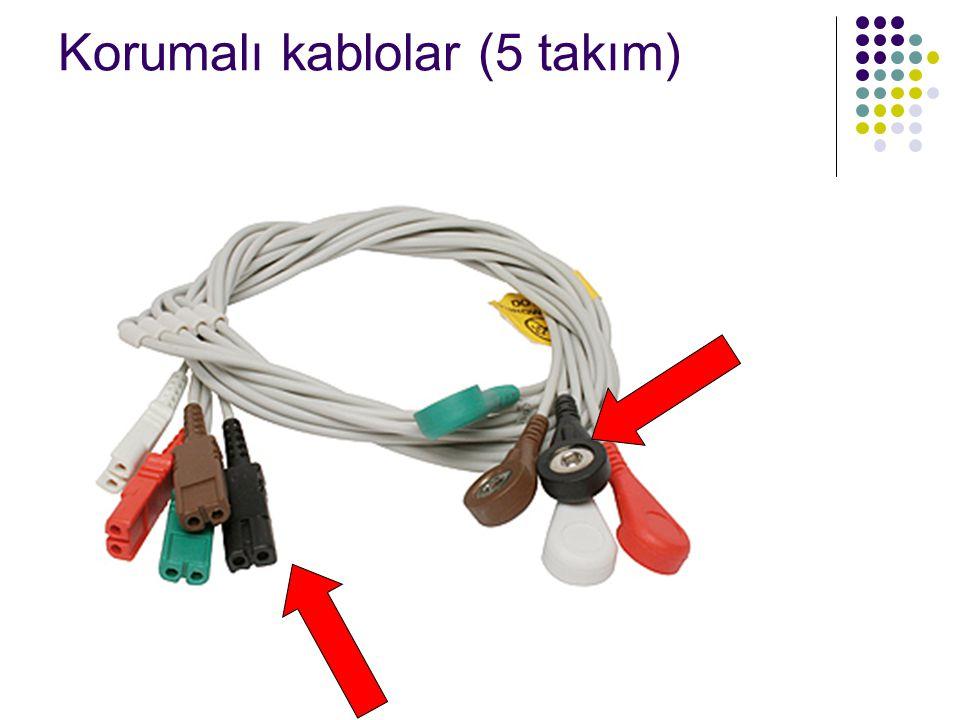 Korumalı kablolar (5 takım)
