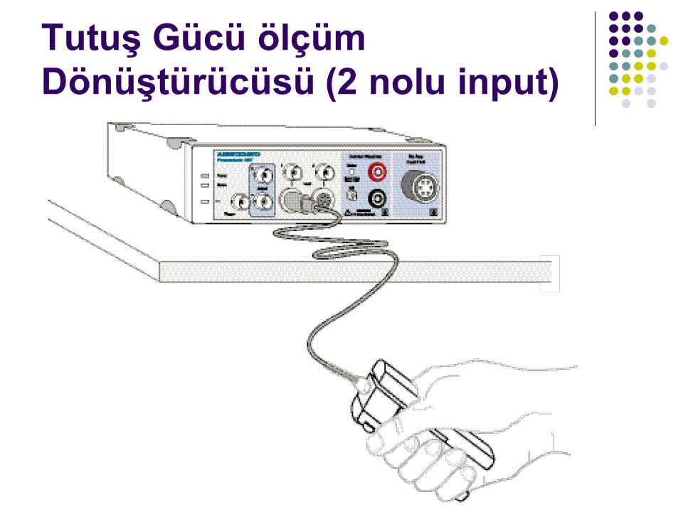 Tutuş Gücü ölçüm Dönüştürücüsü (2 nolu input)