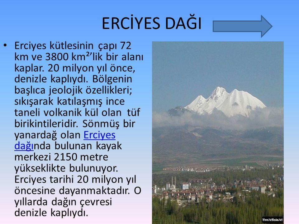 ERCİYES DAĞI