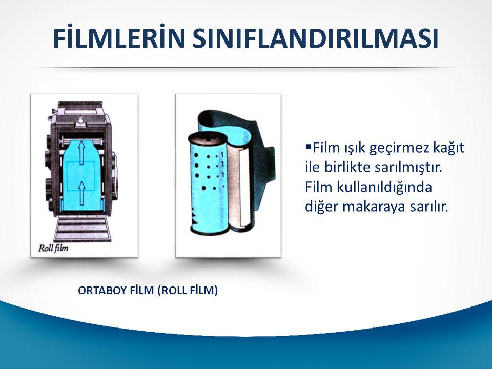 FİLMLERİN SINIFLANDIRILMASI ORTABOY FİLM (ROLL FİLM)