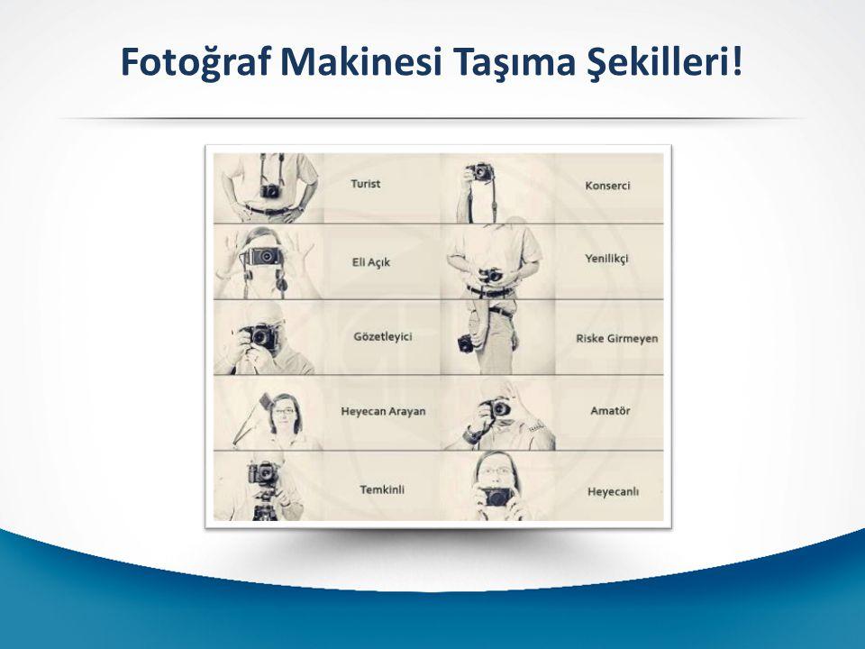 Fotoğraf Makinesi Taşıma Şekilleri!
