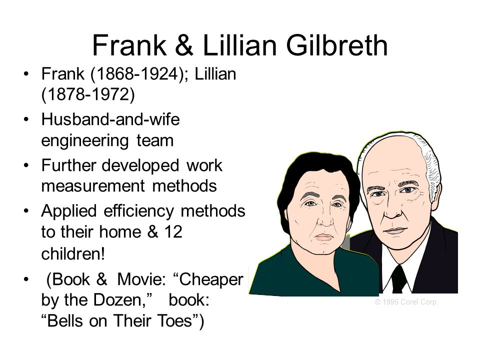 Frank & Lillian Gilbreth