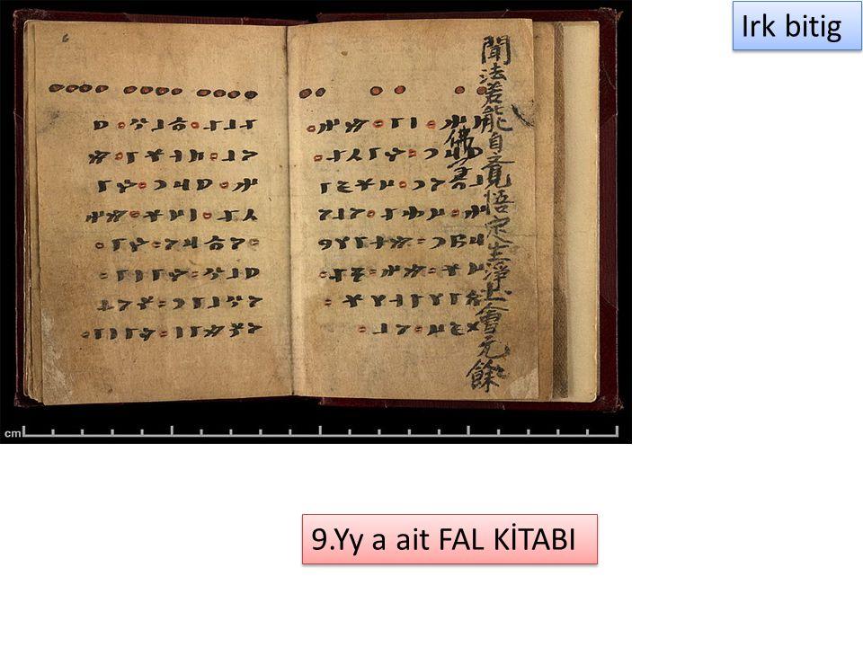 Irk bitig 9.Yy a ait FAL KİTABI