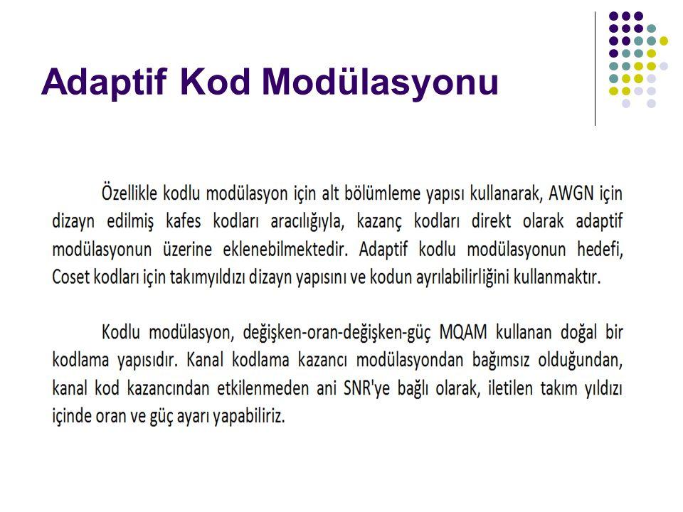Adaptif Kod Modülasyonu